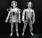 LOT 2 Doctor Who THE TENTH PLANET CYBERMAN Tomb of the Cybermen Action Figure U