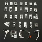 32pcs Domestic Sewing Machine Presser Foot Feet Brother Singer Set Janome Kit