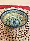 Polish Stoneware Handmade in Poland Small Serving Bowl