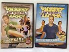 Lot of 2 Biggest Loser DVDs Boot Camp  Weight Loss Yoga Fitness Exercise Harper