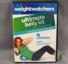 Weight Watchers Ultimate Belly DVD 4 Workouts Fitness Program Firm Tone Exercise