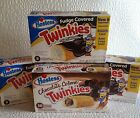 3 Boxes Fudge Covered Twinkies and 1 Box Chocolate Creme Twinkies