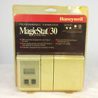 Vintage 80s 90s Honeywell Magicstat 30 Programmable Heating Cooling Thermostat