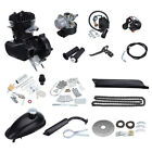 80cc 50cc 2 Stroke Motor Engine Kit Gas for Motorized Bicycle Bike Cycle DIY