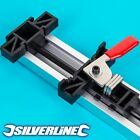 LARGE SILVERLINE 1270mm STRAIGHT EDGE GUIDE CLAMP Workbench Jigsaw Router Saw