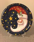 Santa Claus Decorative Plate Certified International Stephanie Stouffer