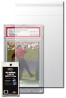 100 BCW Resealable Graded Card Sleeves 3 3 4 X 5 1 2 Holds PSA or BGS Grading