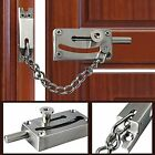 Alise Slide Bolt Latch Security Chain Safety Gate Door Lock Duty Stainless Steel
