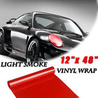 Premium Glossy Car Smoke Vinyl Wrap Sticker Decal Air Release Tint Film Sheet Us