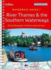 River Thames and Southern Waterways by Collins Maps Spiral bound Book New