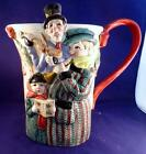 Fitz & Floyd Classics CAROLERS CHRISTMAS TREE Christmas Water/Tea Pitcher 1993