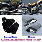 Battery Side Fairing Cover Left&Right For Honda Shadow VLX600 VT600C 1999-2007