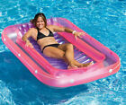 Tan Dazzler Swimming Pool Inflatable Float Lounge