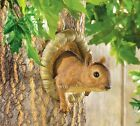 Outdoor Tree Mounted Prank Squirrel Hole Mirage Animal Statue Trick Sculpture