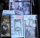 LOT 4 Home Decor patterns Sewing McCalls SIMPLICITY Butterick WAVERLY 3 bed