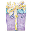Pictura embellished laser die cut birthday card PRESENT PC 51141