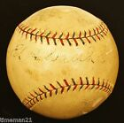 ED WALSH amd RED FABER Autographed Baseball PSA DNA HOF Chicago White Sox 03276