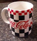 1997 Coca-Cola Mug, by Gibson, Red and Black Checkered