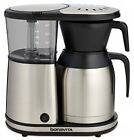 8-cup Drip Type Coffee Brewer Stainless Steel Lined Thermal Carafe Pre Infusion