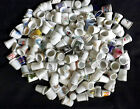 Huge lot over 150 thimbles states bird flower