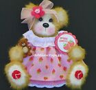 TWAGDEBBIE GIRL MULBERRY TEAR BEAR PAPER PIECING EMBELLISHMENT SCRAPBOOK PAGES