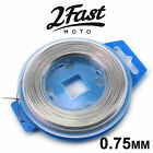 2FastMoto Stainless Steel Safety Grip Wire Spool 0.75mm x 50' Roll Moped Scooter