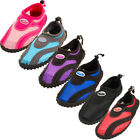 Womens Water Shoes Aqua Socks Slip On Pool Beach Swim Surf Sport Wet Workout New