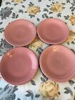 Fiestaware Set Of 4 Small Appetizer Plates 7.25