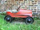 Vintage Garton Pedal Car Antique Casey Jones Hot Rod Rat Rod RARE