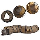 Pet Cat Kitten Tunnel Collapsible Tunnel Cat Rabbit Playing Toy Tunnels In US