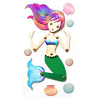 Poseable Mermaid Moving Limbs ADORABLE Jolees 3D Stickers