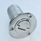 Boat Deck Fill Filler Keyless Cap 1 1 2 Waste Marine 316 Stainless Steel