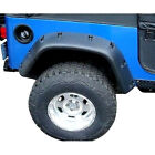 6 Textured Black Rear Passenger Flare for Jeep Wrangler YJ 1987 1995 17191 03