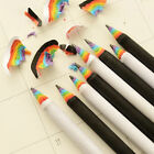 Cute 2Pcs Black  White Rainbow Pencil Drawing Painting Pencils Stationery Gifts