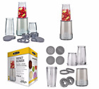 NEW Rocket Blender Shaker Fruit Mixer Food Processor 12 piece Set Personal Size