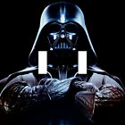 Handmade Darth Vader Star Wars Double Light Switch Plate Cover