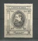 1912 CHARLES DICKENS POSTER STAMP 1d BLACK UNMOUNTED MINT REF 228