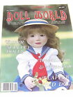 7068 1985 AUG NATIONAL DOLL WORLD MAGAZINE GRUGNETTO ANILI PAPAER DOLL