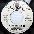 ONE WAY STREET garage psych punk promo 45 I SEE THE LIGHT TEARS IN MY EYES F2344