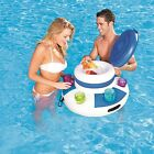 Bestway CoolerZ Floating Raft Pool Drink Cold Party Six Cup Holder Inflatable