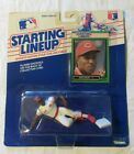STARTING LINEUP, ACTION FIGURE WITH TRADING CARD, ERIC DAVIS! 1989