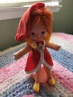 Rainbow Brite Lala Orange Color Kid Doll, Original, 1983, In Great Shape!