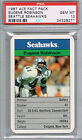 EUGENE ROBINSON 1987 Ace Fact Pack Seattle Seahawks Rookie RC PSA 10 Pop 1