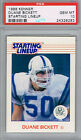 DUANE BICKETT Indianapolis Colts 1988 Kenner Starting Lineup PSA 10 Pop 2