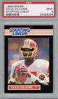 DOUG WILLIAMS Redskins 1989 Kenner Starting Lineup PSA 9 Pop 5 None Higher