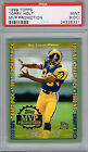 TORRY HOLT Rams 1999 Topps MVP Promotion Rookie RC 100 PSA 9 Pop 1 None Higher