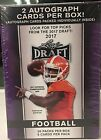 2017 Leaf Draft Football Cards (2 Autographs In Box) - Free Shipping