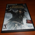 Pirates of the Caribbean: At World's End (Sony PlayStation 2, 2007) Used PS2
