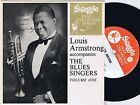 LOUIS ARMSTRONG w/ THE BLUES SINGERS Vol.1 Australian EP 33PS 1963 Swaggie Top!!