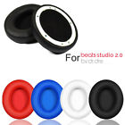 1Pair Replacement Ear Pads Earpad Cushion For Beats by dr dre Studio2.0 Wireless